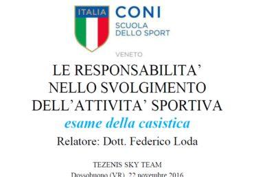 Importante serata di formazione per lo Staff Tezenis ski Team