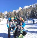 Tezenis Ski Team 3 nella combinata ai Trentini