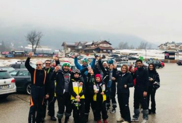 Tezenis Ski Team Enjoy Ski in trasferta ad Andalo