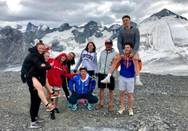 Giovani Falconeri Ski Team al ritorno dallo Stelvio