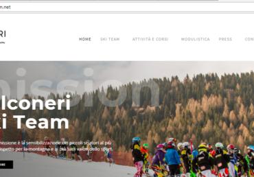 Attivo il nuovo sito FALCONERI SKI TEAM